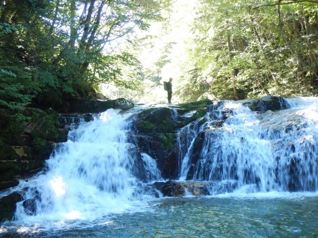 855最初の滝